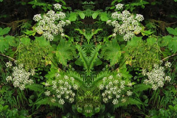 Mirror 933_Green Man In Flowers