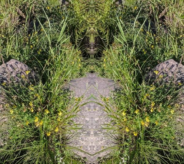 Mirror 1031_River  Cat Totem