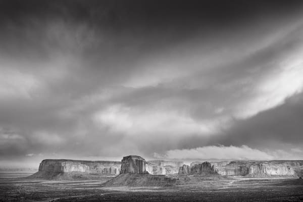 In Law Chaser Over Monument Valley Photography Art | John Gregor Photography