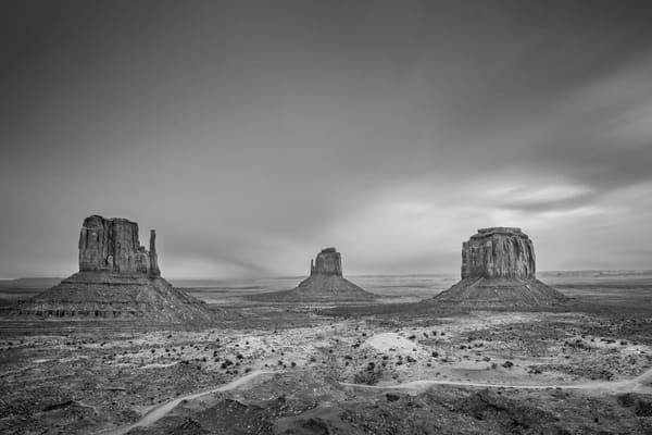 8 Minute Storm Over Monument Valley Photography Art | John Gregor Photography
