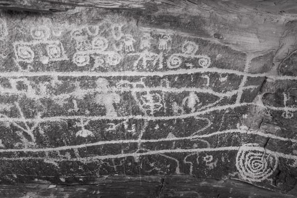 Ismay Trading Post Pictographs Photography Art | John Gregor Photography