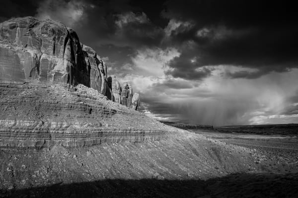 Storms Passing Bluff Utah Photography Art | John Gregor Photography