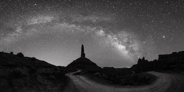 Milky Way In Valley Of Gods Photography Art | John Gregor Photography