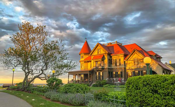 Norton House Golden Sunset Photography Art | Michael Blanchard Inspirational Photography - Crossroads Gallery