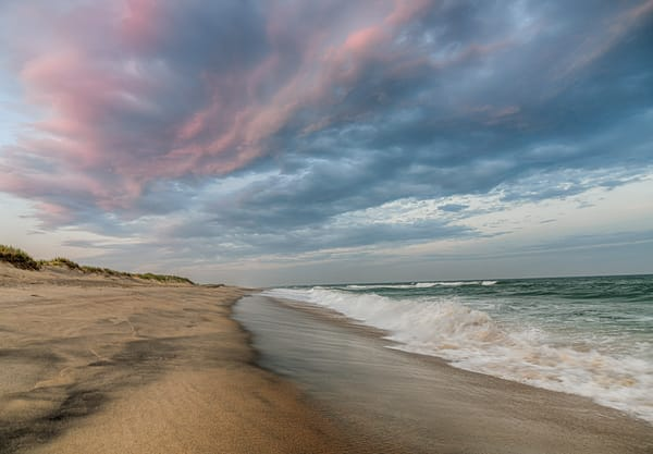 Long Point Magenta Clouds Photography Art | Michael Blanchard Inspirational Photography - Crossroads Gallery