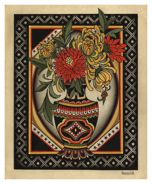 Flowers (Standard) Art | Kings Avenue Tattoo