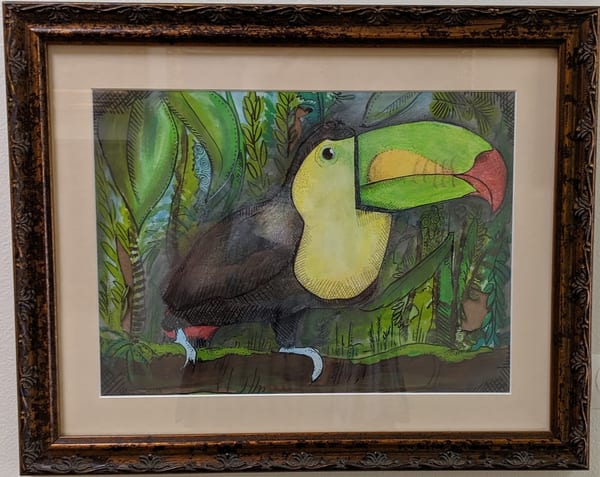 Brett Duncan - animals - toucans - Queen of the Jungle