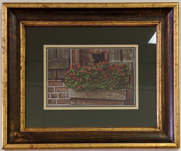 Dan Garcia - flowers - colored pencil - Savannah Flower Box