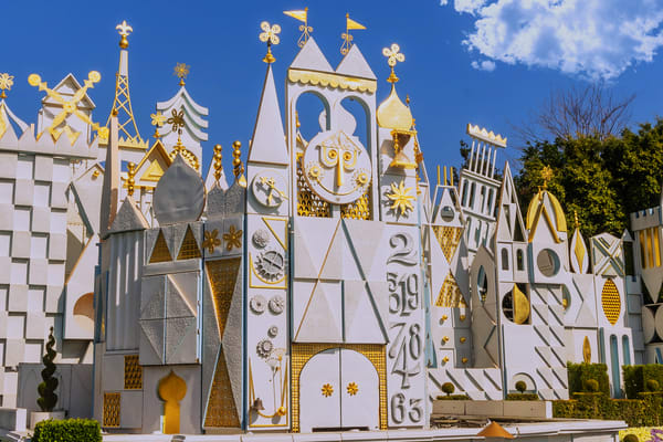Small World Disneyland Photography Art | William Drew Photography