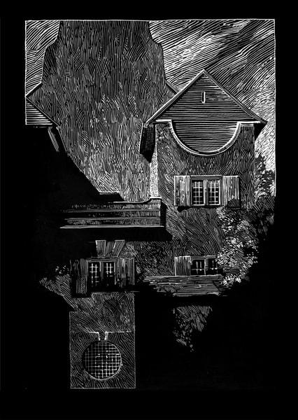 Lutyens: Le Bois Des Moutiers Art | Andre Junget Illustration LLC