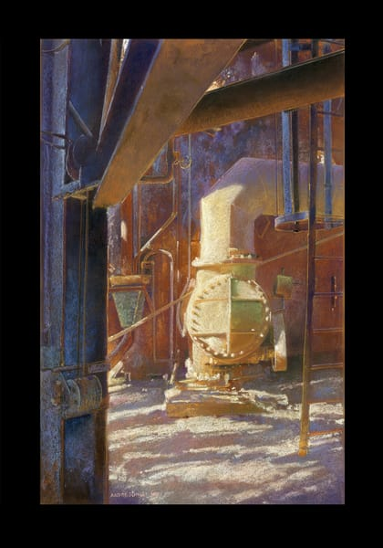 Carrie Furnace 1 Art | Andre Junget Illustration LLC