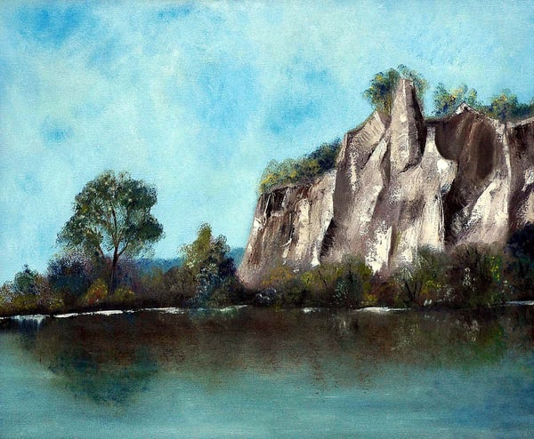 First Visit   The Scarborough Bluffs Art | Sharon Bacal - Fine Art
