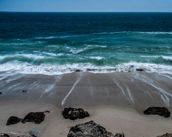 Receding waves - Art Print - Tamea Photography