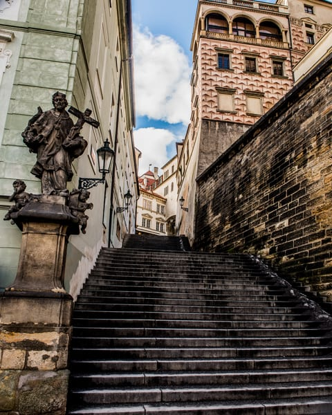 Steps to the Castle - Art Print - Tamea Photography