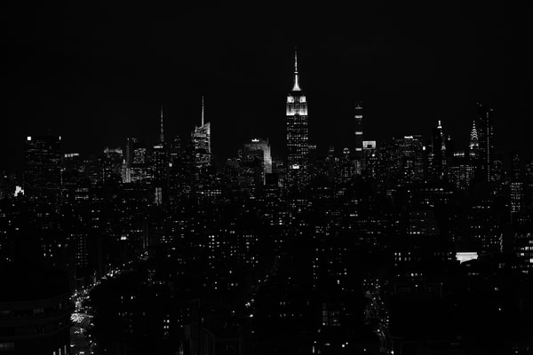 Nyc Skyline From Downtown Photography Art | Ed Lefkowicz Photography