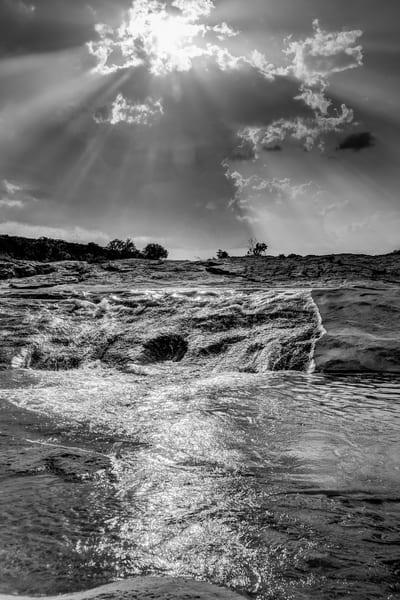 Sunset Pedernales Falls Photography Art   Michael Penn Smith - Vision Worker