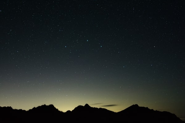 A Range Of Stars Photography Art   Call of the Mountains Photography
