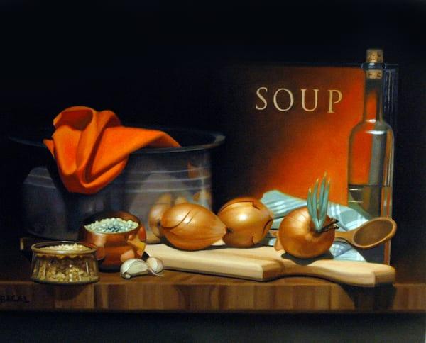 Soup Art | Sharon Bacal - Fine Art