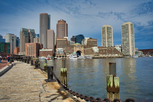 Boston Harbor Photography Art | Paul J Godin Photography