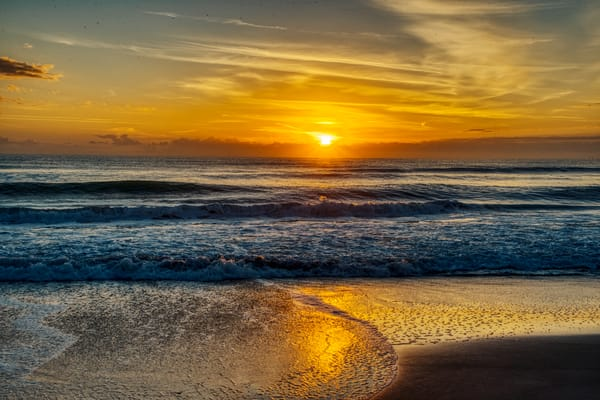 Cocco Beach Sunset Photography Art | Paul J Godin Photography