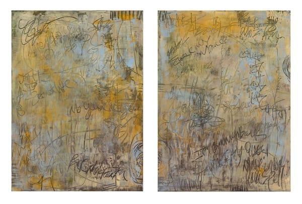 I'm Coming Back 1 & 2  (Diptych) Art | Sondra Wampler | fine art