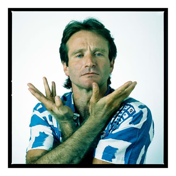 Robin Williams, New York City, 1986 Photography Art | Bill Bernstein Fine Art Collection