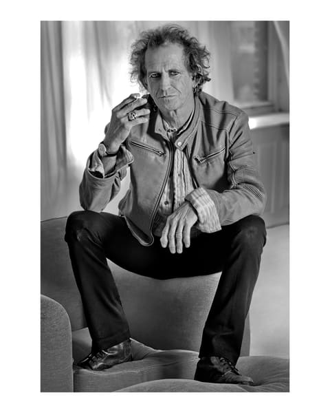 Keith Richards, New York City, 2006 Photography Art | Bill Bernstein Fine Art Collection