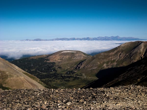 Above The Clouds Quandary 14265ft  (Limited Edition) Photography Art | Creighton Images