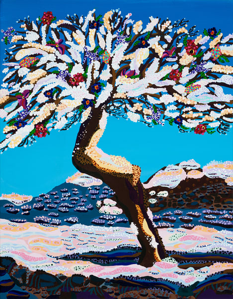 Almond Tree Art | Goldwoman Fine Art