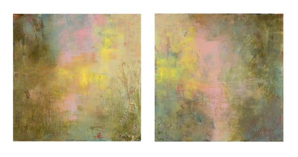 The Echoing Green (Diptych) Art | Sondra Wampler | fine art