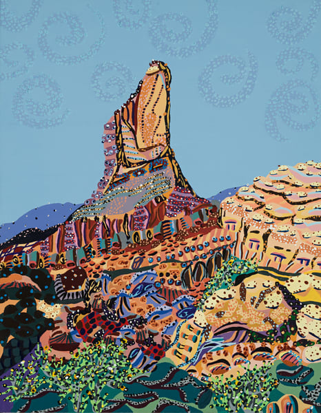 Weaver's Needle Art | Goldwoman Fine Art