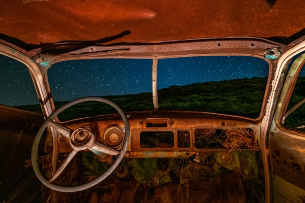 Night Rider Photography Art | John Gregor Photography