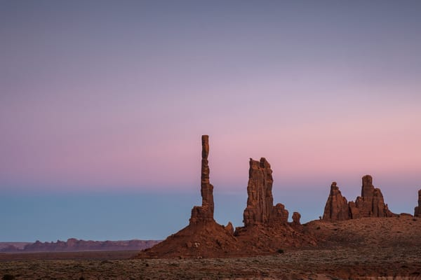 Sunset At Yei Bi Chai, Monument Valley Photography Art | John Gregor Photography