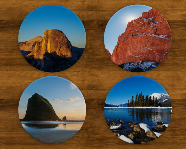 Day Hike Coaster Set | Call of the Mountains Photography
