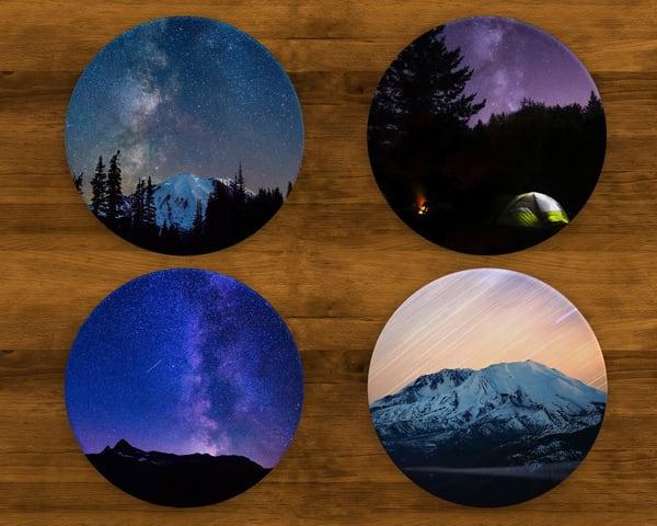 Washington Stars Coaster Set | Call of the Mountains Photography
