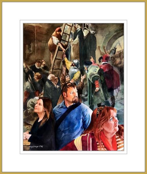 Time Travels - Original Watercolor - NFS