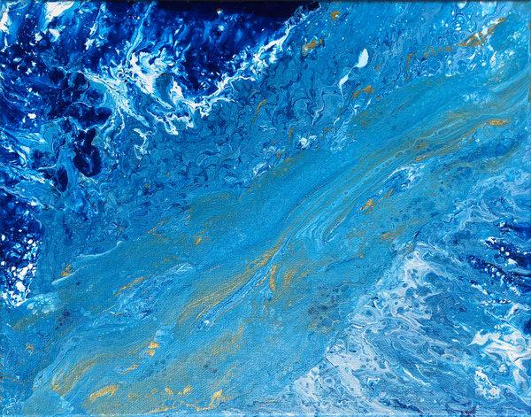 River Rapids Art   Carol Roullard Art
