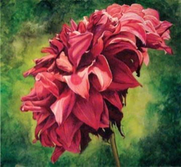 Descanso Dahlia   Original Art | Water+Ink Studios