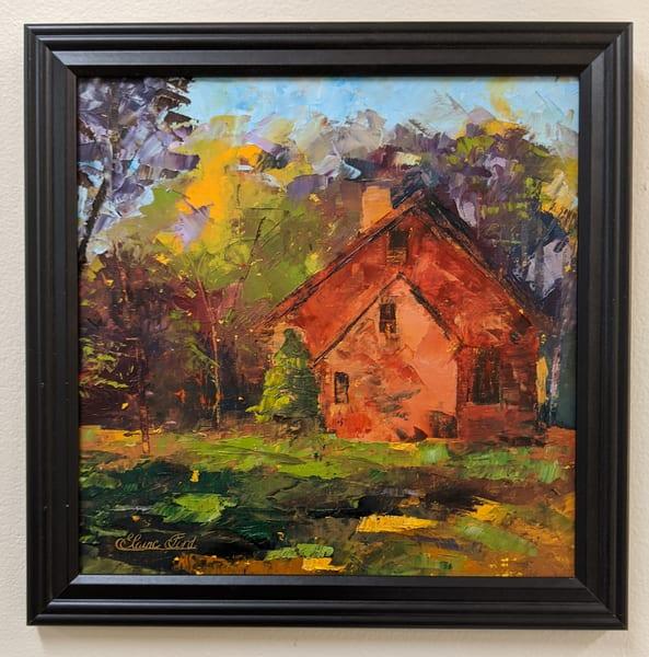 Elaine Ford - original artwork - fall - Amy's House
