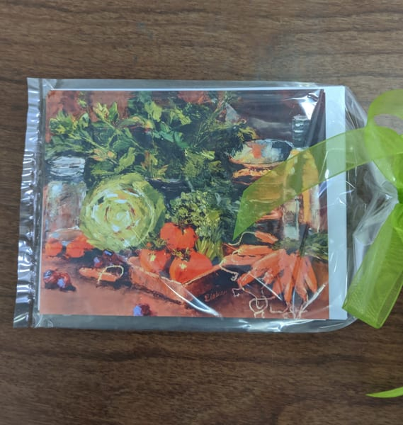 Elaine Ford - note cards - Vegetables