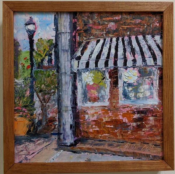 Elaine Ford - original artwork - impressionism - The Sweet Shop