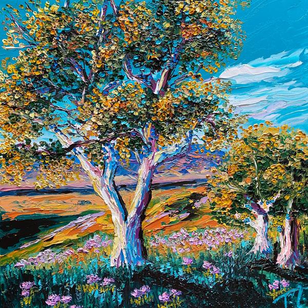 Sun Struck   Original Oil Painting Art   Tessa Nicole Art