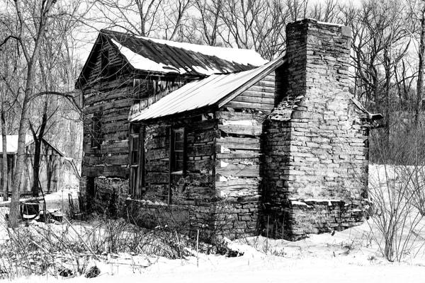 Log Cabin, Morrow, Ohio  Photography Art | Eric Hatch