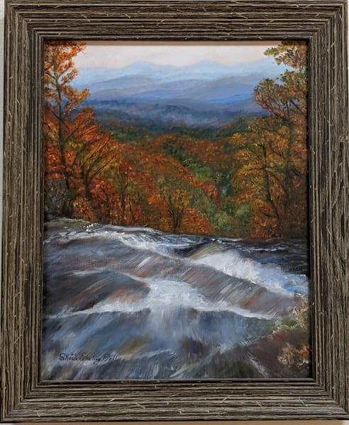 Sheila Sell - original artwork - nature - Amicalola Falls