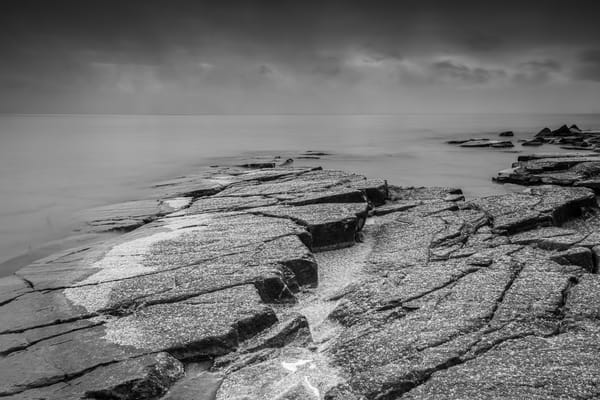 Ledge Rock At Stoney Point, Lake Superior Photography Art | John Gregor Photography