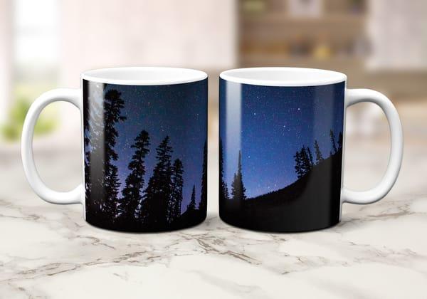 Wa Pass Overlook Trees 11oz Mug | Call of the Mountains Photography
