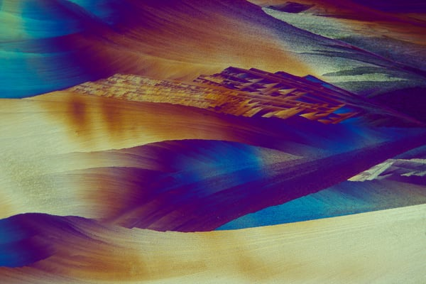 Mystic (Lidocaine Crystals) Art | Carol Roullard Art