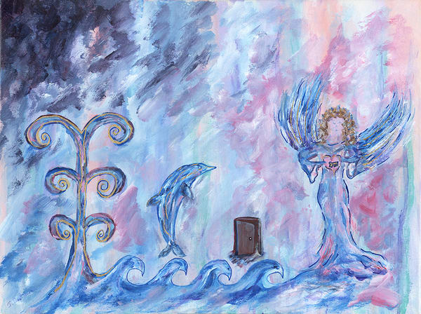 Angel and Dolphin
