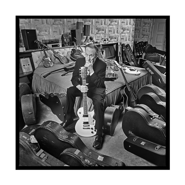 Les Paul's Bedroom, Nj, 1990 Photography Art | Bill Bernstein Fine Art Collection