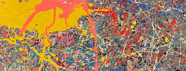 Bull's Eye Pink Rt.: Print Art | Anonymous Art Studios